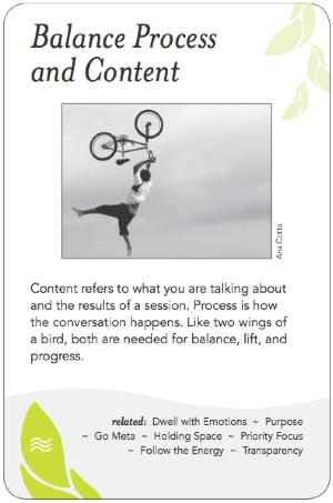 Balance Process and Content